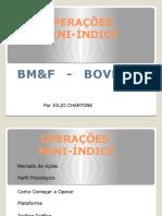 Curso Operações Mini-Indice