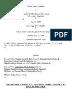 United States v. Scott, C.A.A.F. (1999)