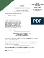 Cure Land v. USDA, 10th Cir. (2016)