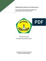 Tugas Administrasi Sarana Dan Prasarana