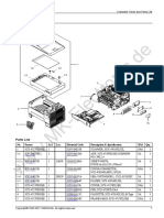 SCX-4727FD Part Catalog