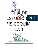 Guía de Estudio de Fisicoquímica 1