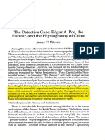 the Detective Gaze Edgar a Poe TheFlaneur and the Physiognomy of Crime