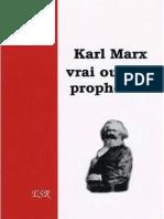 Manifold Deidre - Karl Marx Vrai Ou Faux Prophète