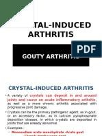 Crystal-induced arthritis