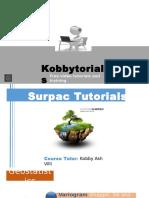 Surpac Presentation