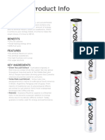 Nevo Product Info Sheet