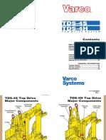 Varco TDS-4S pocket guide