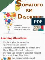 Somatoform Disorder