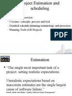 Project Estimation