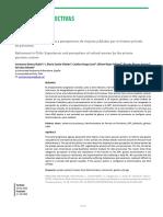 Jubilación en Chile. Vivencias y Percepciones de Mujeres Jubiladas Por El Sistema Privado