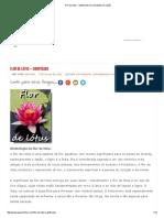 Flor de Lótus - Significado _ Curiosidades Do Japão