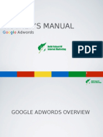 Latest Adwords Training Manual DSIM