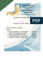 Potencia Electrica Exp.6