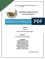 Tercería  y Proceso administrativo