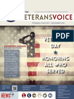 The Utah Veterans Voice, November 2016