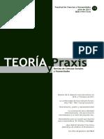 Teoria y Praxis 2011