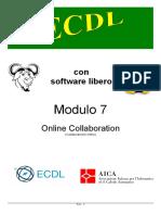 Nuova ECDL - Online Collaboration