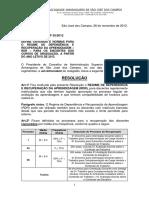 Resolução 35-12 RDR