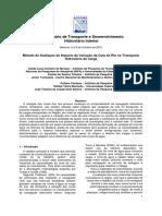 Método de Avaliação de Impacto da Variação da Cota do Rio no Transporte Hidroviário de Carga