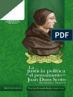 Justicia Política en Juan Duns Scoto