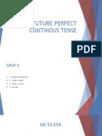 Future Perfect Continous Tense