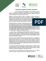 09-11-2016 ALCALDÍA ESTABLECIÓ HORARIOS DE CARGUE Y DESCARGUE.
