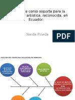 El Alambre Como Soporte Para La Producción Artística, Reconocida, En Ecuador.