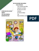 Test de Estrés Para Niños