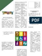 Triptico Expo Discapacidad