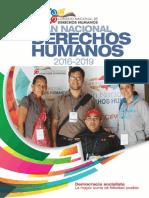 Plan Nacional de Derechos Humanos Venezuela 2016