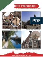 Journal Des Journées Du Patrimoine 2011