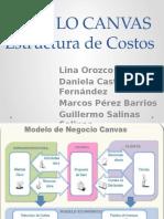 Estructura de Costos (MODELO CANVAS)
