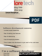 ExploreTech - Test Driven Development ( TDD )