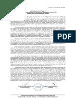 Declaración Pública Femefum Sobre Msp