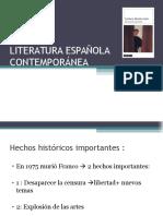 Literatura Española Cont