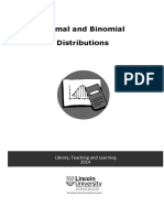 Normal Binomial