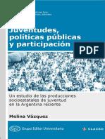 Vázquez - Juventudes, Políticas Públicas y Participación