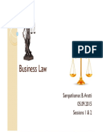 Business Law_Sessions 1 & 2_05.09.2015_Slides