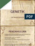 tugas genetik