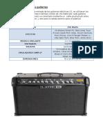Amplificador Para Las Guitarras