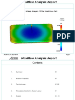 Small Base Moldflow Analysis Report