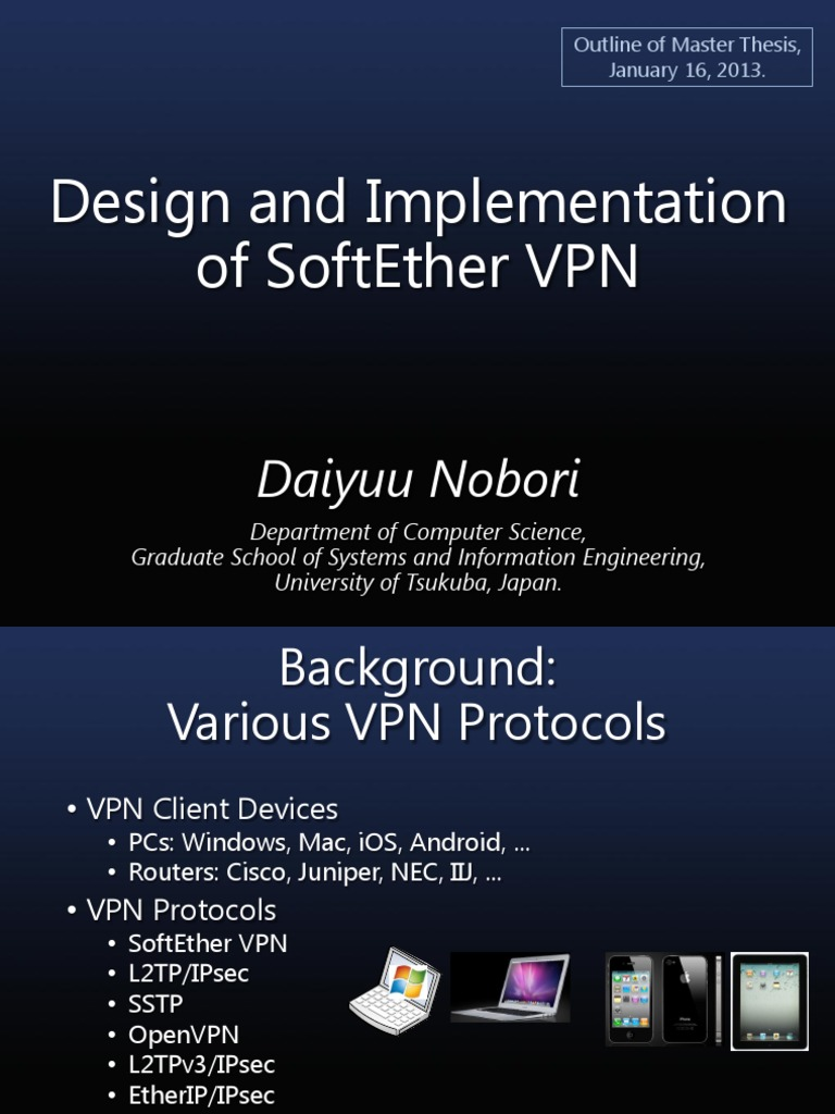 SoftEtherVPN pdf   Virtual Private Network   Internet