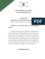 ADMISION IMPEDIMENTO Art 141 No 2 AC3485-2016 (2006-00251-01)