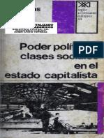 Poder Político y Clases Sociales
