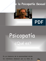 Genética de La Psicopatía Sexual