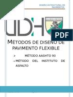 Metodos Aashto, Instituto de Asfalto
