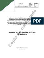 MANUAL DEL SISTEMA INTEGRADO DE GESTIÓN - LESCODGMMA001_rev30
