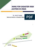 01.DisasterRiskmitigationthroughLandUsePlanning_AnilGuptappt