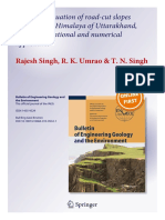 2_Stability Evaluation of Road-cut Slopes in the Lesser Himalaya of Uttarakhand, India Conventional and Numerical Approaches